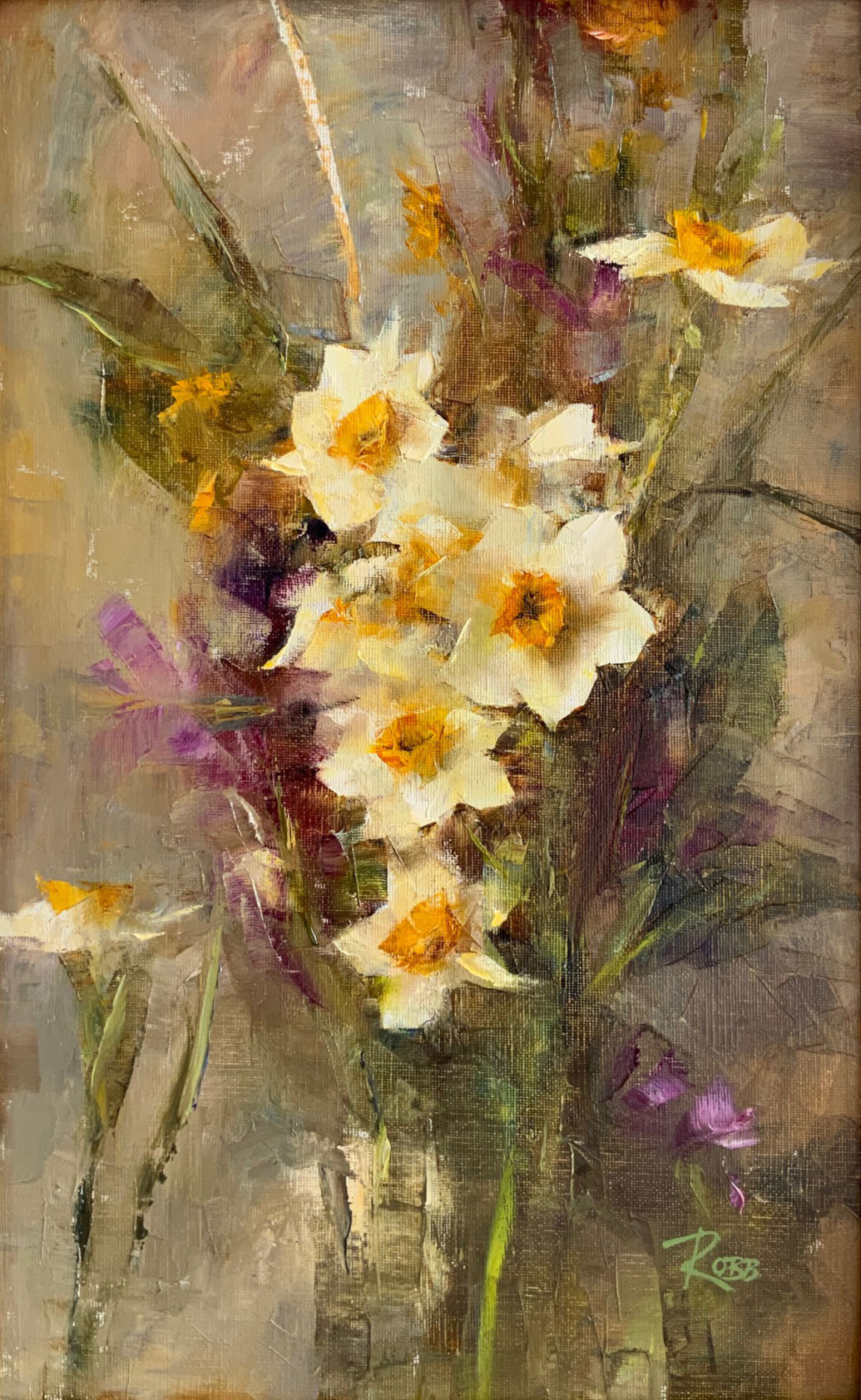 Bouquet with Narcissus